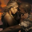 Kanye West professes his enduring love for Kim Kardashian in his new 'Bound 2′ music video which includes a very topless Kim complete with a green screen and questionable CGI....